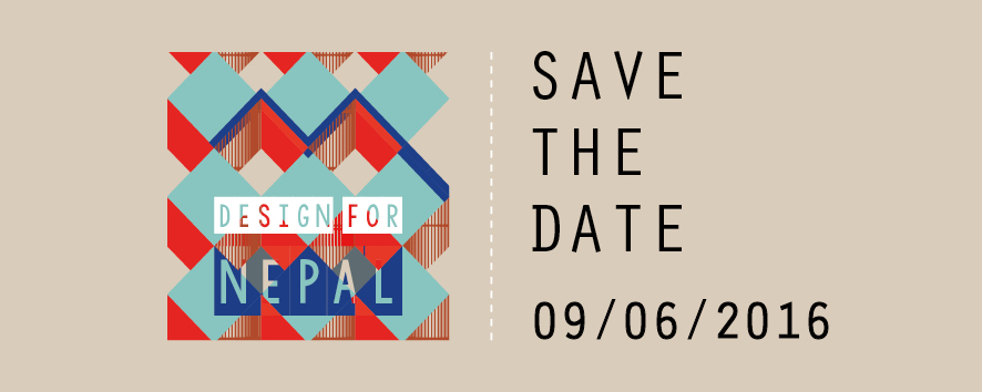 SAVE THE DATE - DESIGN FOR NEPAL 2016_per sito2