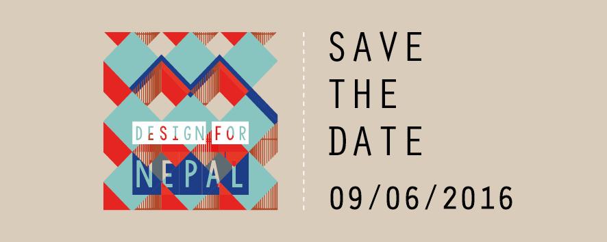 SAVE THE DATE - DESIGN FOR NEPAL 2016_per sito2